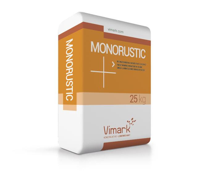 Intonaco monostrato MONORUSTIC