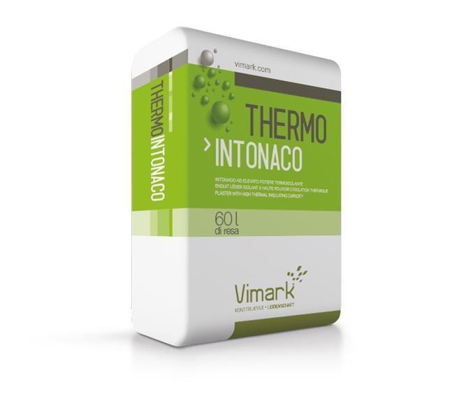 Intonaco termoisolante THERMOINTONACO